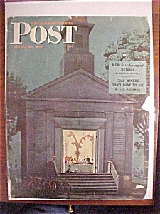 Saturday Evening Post Cover -dohanos- August 10, 1946