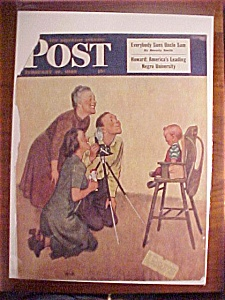 Saturday Evening Post Cover By Welch - Feb 19, 1949