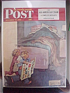 Saturday Evening Post Cover By Welch - Dec 20, 1947