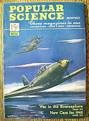 Popular Science Magazine-November 1941-Cars For 1942 (Image1)