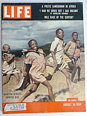 Life Magazine August 16, 1954 Africa's Kids