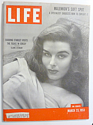 Life Magazine - March 23, 1953 - Elaine Stewart