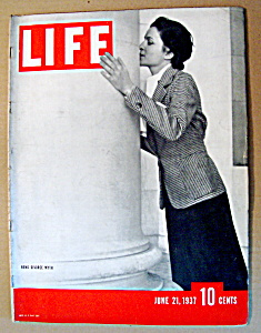 Life Magazine - June 21, 1937 - Reno Divorce Myth