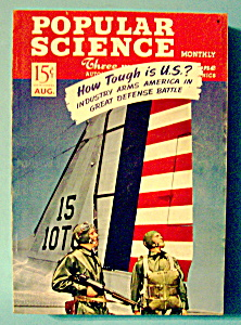 Popular Science Magazine August 1941 How Tough Is U. S. (Image1)