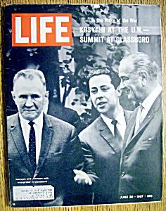 2 LIFE Magazine June 30 1967 ~ Summit at Glassboro ~ Spencer Tracy ~  Ads