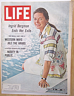 Life Magazine - October 13, 1967 - Ingrid Bergman