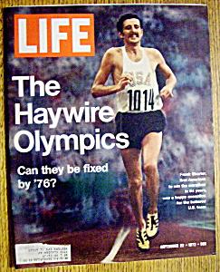 Life Magazine-September 22, 1972-Haywire Olympics (Image1)
