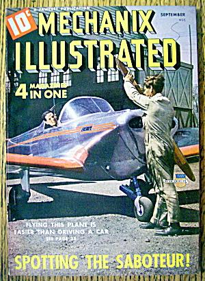 Mechanix Illustrated Magazine-September 1941-Saboteur (Image1)