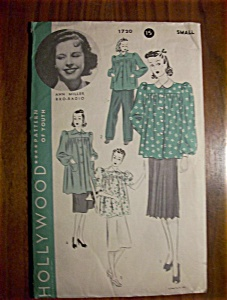 1940's Hollywood Patterns Ann Miller