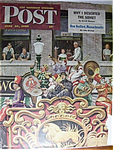 Saturday Evening Post Cover -dohanos- June 26, 1948