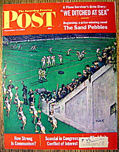 Saturday Evening Post Cover By Utz-november 17, 1962