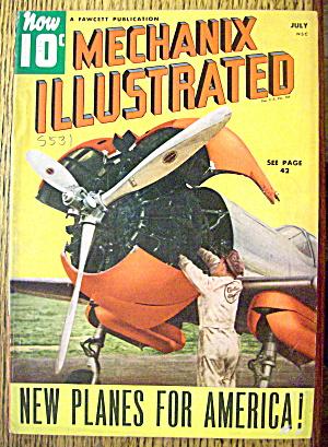Mechanix Illustrated Magazine-July 1940-New Planes (Image1)