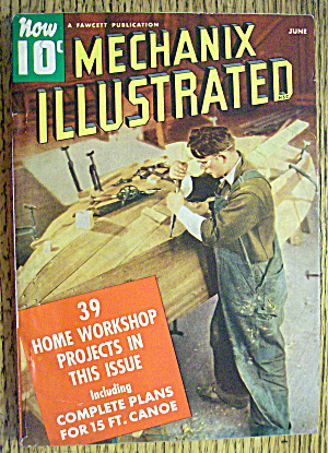 Mechanix Illustrated-june 1940-39 Home Projects