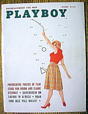 Playboy Magazine-October 1959-Elaine Reynolds (Image1)