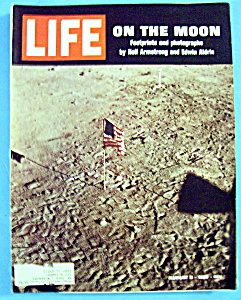 Life Magazine-august 8, 1969-on The Moon