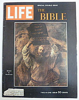 Life Magazine-december 25, 1964-the Bible