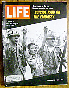 Life Magazine-february 9, 1968-embassy Battle