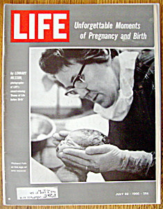 Life Magazine - July 22, 1966 - Pregnancy