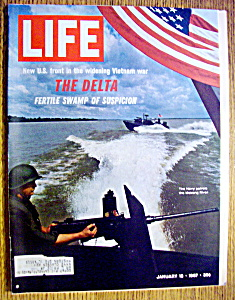 Life Magazine-january 13, 1967-the Delta