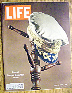 Life Magazine-april 17, 1964-general Douglas Macarthur