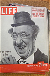 Life Magazine October 23, 1950 Tv Gets Top Comics