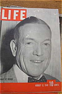 Life Magazine - August 12, 1940 - Mcnary Of Oregon