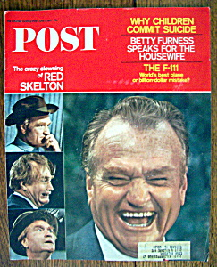 Sat Evening Post Magazine-june 17, 1967-red Skelton