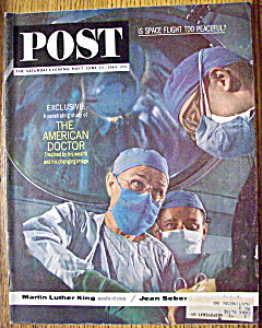 Saturday Evening Post Magazine - June 15, 1963 - Doctor (Image1)