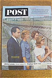 Saturday Evening Post Magazine - October 12, 1963