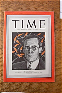 Time Magazine -april 13, 1942 - Sir Stafford Cripps