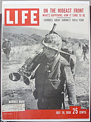 Life Magazine - July 28, 1958 - On The Mideast Front