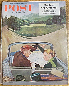Saturday Evening Post Magazine - July 7, 1956
