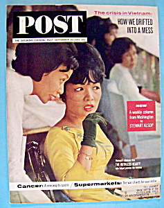 Saturday Evening Post Magazine - September 28, 1963