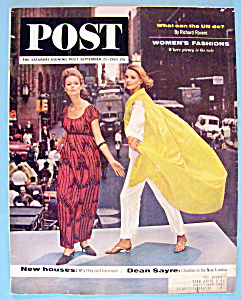 Saturday Evening Post Magazine - September 21, 1963