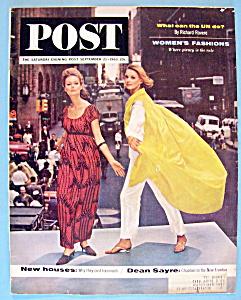 Saturday Evening Post Magazine - September 21, 1963 (Image1)