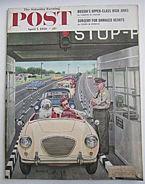 Saturday Evening Post Magazine April 7, 1956 Dohanos  (Image1)