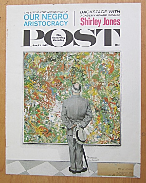 Saturday Evening Post Cover - Jan 13, 1962 - Rockwell