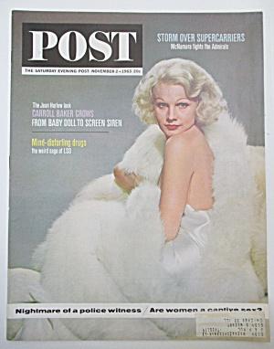 Saturday Evening Post Magazine - November 2, 1963 (Image1)