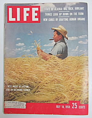 Life Magazine - July 14, 1958 - Oklahoma Farmer