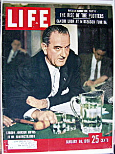 Life Magazine - January 20, 1958 - Lyndon Johnson