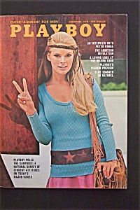 Vintage Playboy-September 1970-Peter Fonda Interview (Image1)