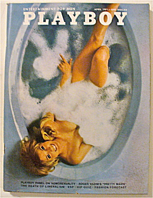 Playboy Magazine-April 1971-Chris Cranston (Image1)
