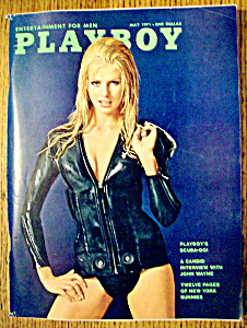 Vintage Playboy-may 1971-janice Pennington