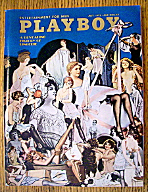 Playboy Magazine-July 1972-Carol O'Neal (Image1)