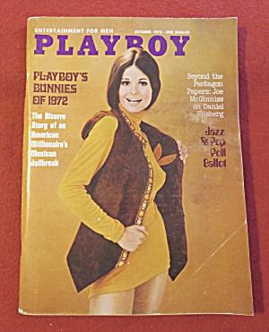 Playboy Magazine-October 1972-Sharon Johanson (Image1)