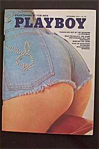 September 1974 Playboy Magazine (Image1)