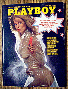 Vintage Playboy-July 1975-Lynn Schiller (Image1)
