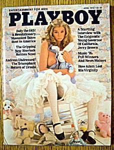 Playboy Magazine-April 1976-Denise Michele (Image1)