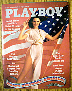 Playboy Magazine-July 1976-Jayne Marie Mansfield (Image1)