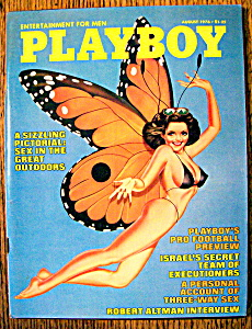 Playboy Magazine-august 1976-linda Beatty